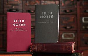 Field Notes arts And Sciences Limited Edition Sealed 3 pack Memo Notebooks
