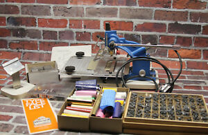 Howard Personalizer 45 Imprinting Hot Foil Stamping Machine Type Accessories Lot