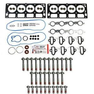 Mls Head Gasket Set W bolt Kit For 04 07 Gm 6 0l 364 Cadillac Chevy Gmc Hummer