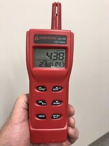 Computers Accessories Amprobe Co2 100 Handheld Carbon Dioxide Meter