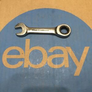12mm Original Stubby Gearwrench Ratcheting Wrench Tool Used