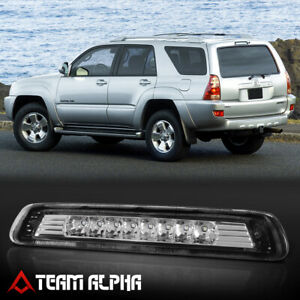 Fits 2003 2009 Toyota 4runner chrome clear Led Third 3rd Brake Light Tail Lamp