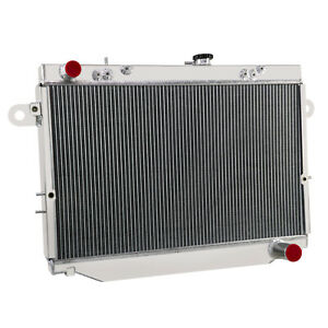 3 Row Radiator For Toyota Landcruiser 100 Series Hdj100r Fzj105r Hzj105r Mt Ez