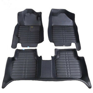 Fit For Toyota Highlander 2015 2018 Car Floor Mats Front Rear Liner Auto Waterp