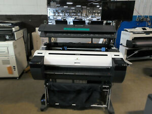 Canon Imageprograf Ipf 780 36 Wide Format W Scanner Ct