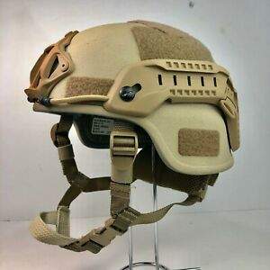 Tan Coyote Brown Full Cut LVL IIIA ACH Ballistic Helmet DEVGRU TBH-II Fast Ship
