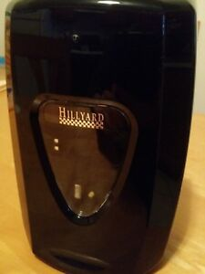 6 New Black Wall Mount Commercial Soap Dispensers W Adhesive Back