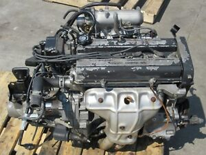 Honda Crv Civic B20b Engine Low Intake Manual Awd 5speed Transmission Ecu B20b
