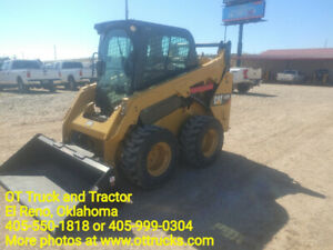 2015 Caterpillar 242d Cab A c Skid Steer Loader 1081hrs 74hp 2150lift Used