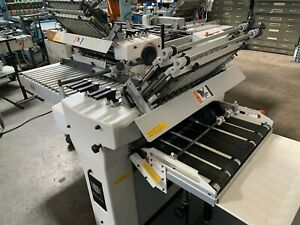 Baumfolder Stahl Heidelberg 2020 With Right Angle Delivery Conveyor