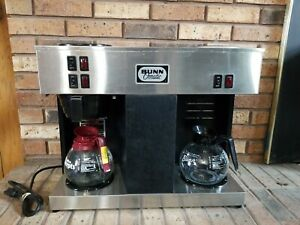 Bunn O Matic Commercial 12 Cup Coffee Maker Vps Black Preowned E23