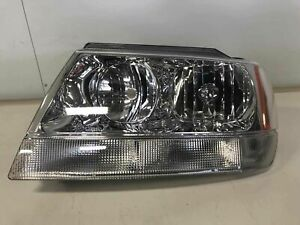 1999 2004 Jeep Grand Cherokee Left Lh Drive Side Headlamp Assembly