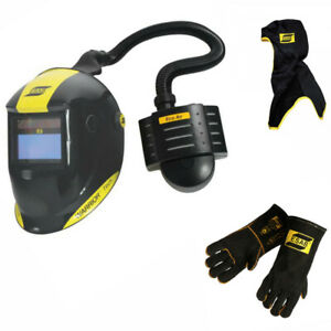 Esab Warrior Tech Welding Helmet With Eco Air Papr Unit Free Hood
