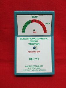 Hays Electronics Electromagnetic Emf Tester Model He 711 Made In Usa