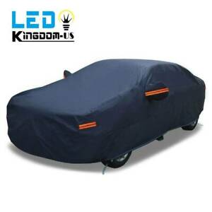 Full Car Cover Waterproof Uv Rain Snow Dust Resistant All Weather Protection Us