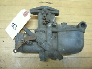 Vintage Ford Model A Antique Car Engine Tillotson Carburetor Carb B