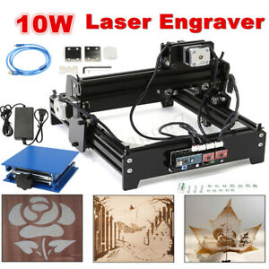 10w Desktop Cnc Laser Engraver Engraving Machine Image Craft Printer Usb