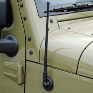 Reflex 13 Am Fm Radio Antenna For Jeep Wrangler Jk Jl 2007 2018 Rugged Ridge Us