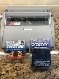 Brother Sx 4000 Electronic Typewriter Lcd Display Daisy Wheel Works Great