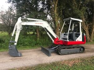 Bobcat E42 With Kubota Diesel Low Hours