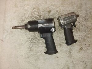 Two Used Aircat 1 2 Impacts And New Napa Tele Blow Gun
