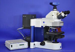 Zeiss Axio Imager A1 Upright Fluorescence Microscope Plan neofluar Objectives