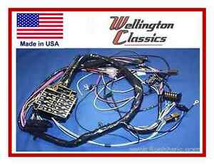 1964 1965 1966 1967 Chevelle El Camino Dash Wiring Harness