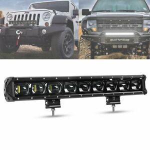 21inch Single Row 9d Driving Light Off Road Led Work Light Bar For Truck Jeep