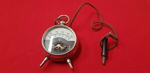 Voltmeter Antique In The Form Of Watch Gusset Ref42804