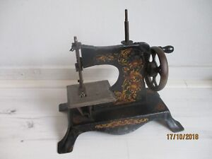 Casige Sewing Machine Germany Miniature Toy Metal Child S Sewing Machine