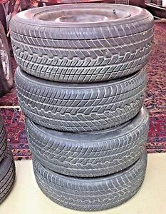 New Pics Yokohama 195 60r14 Rims Included Set Of Four Tire 195 60 14 84h 6j 14h