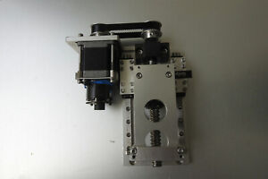 Linear Precision Ballscrew Actuator Z axis 7 5cm Travel With 2 Phase Stepper