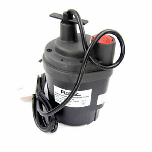 Flotec Tempest 1 6 Hp Submersible Utility Pump Water Drain 115v 1 Discharge