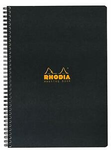 Rhodia Meeting Book Made In France 6 1 2 X 8 1 4