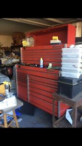 Snap On Mechanics Tool Box Kr 1001 Kr 1100 Tool Chest And Top