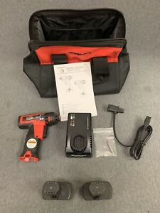 Snap On Cts761a 14 4 V 1 4 Hex Microlithium Cordless Screwdriver Kit New