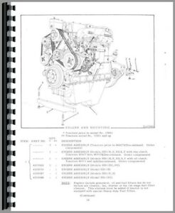 Parts Manual Allis Chalmers Hd11f Hd11s Hd11fc Hd11b Hd11 Hd11ec Hd11e Crawler