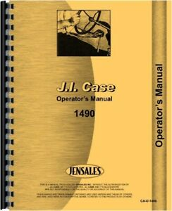 Case David Brown 1490 Tractor Operators Owners Manual