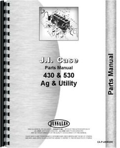 Case 530 Tractor Parts Manual Catalog S n Up To 8262800