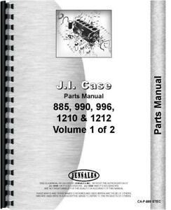 Case David Brown 885 990 995 996 1210 1212 Tractor Parts Manual Catalog