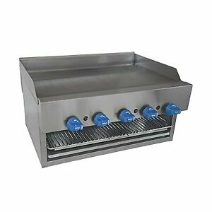Comstock castle 1120b Griddle On Overfire Broiler Gas Countertop
