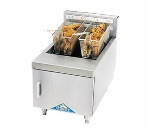 Comstock castle Jo1hg Fryer Gas Countertop Full Pot
