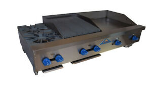 Comstock castle Fhp54 24 1 5rb 54 Countertop Gas Griddle Charbroiler