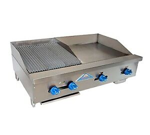 Comstock castle Fhp42 24 1 5rb 42 Countertop Gas Griddle Charbroiler