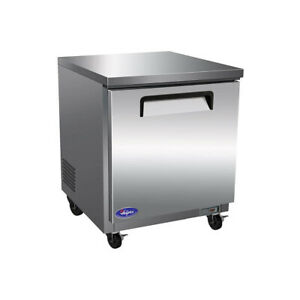 Valpro Commercial Refrigeration Vpucf27 Freezer Undercounter Reach in