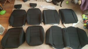 Mustang Tmi Seat Upholstery And Seat Foam 1994 1998 Black Cloth