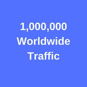 Web Traffic Worldwide 1 000 000 From Search Engine Social Media