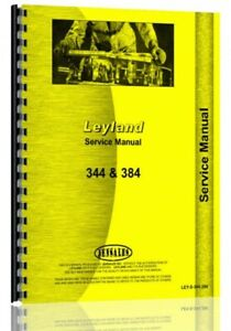 Service Manual Leyland 250 270 344 384 Tractor