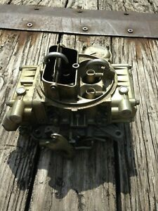 Holley Ford Marine Carb E6jl 9510 Jb 50419 1 Vaccum Secondary 4160 600 Cfm