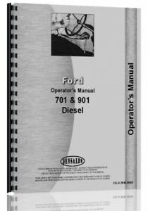 Operators Manual Ford 701 T741 771 901 941 951 961 971 981 Tractor